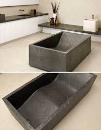stone baths soaking deep in luxury 8 free standing stone bathtubs