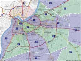 map of ky and surrounding areas map of louisville and surrounding areas map of louisville ky and