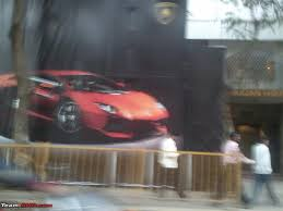 lamborghini showroom mumbai gets first lamborghini dealer team bhp