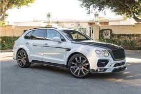 this bentley bentayga is almost attractive thanks to an 80 000