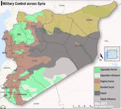 Syria Map Control by Fsa News On Twitter