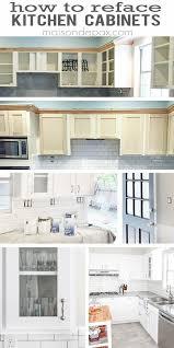 kitchen cabinet resurfacing ideas great kitchen cabinets refacing best ideas about refacing kitchen