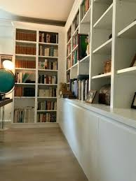 Made Bookcase Painted And Natural Oak Bookcase And Cupboards Bookcase Company