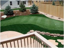 backyard golf net game home outdoor decoration