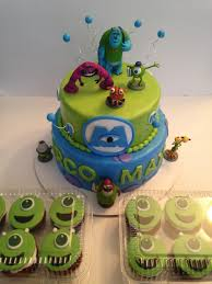 monsters inc birthday cake monsters birthday cake cakes by cathy chicago