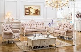 canapé luxe tissu canapé ensemble de meubles de salon en bois et tissu salon ensembles