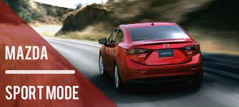 where does mazda come from what does sport mode do on a mazda