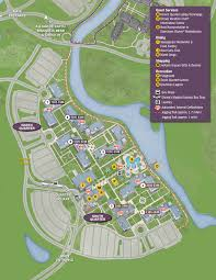 Orlando Disney Map by Port Orleans Riverside Resort Map Kennythepirate Com