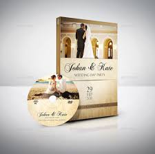 wedding dvd cover and dvd label template vol 4 by owpictures