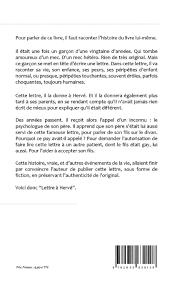 lettre de demande de fourniture de bureau lettre à hervé amazon fr eric sagan livres