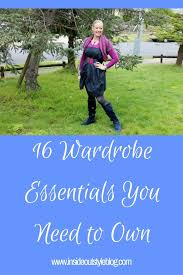 wardrobe essentials basics you need to own inside out style