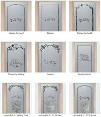 Etched Glass Designs For Kitchen Cabinets Etched Glass Pantry Door Sans Soucie Art Glass