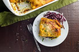 kabocha squash lasagna vegetarian thanksgiving umami