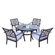Chat Set Patio Furniture - gray patio conversation sets outdoor lounge furniture the