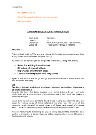 Formal Letter Of Intent by Ix Application And Letter Writing 3 Beta