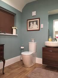 bathroom wall colour dix blue by farrow and ball linda u0026 dan
