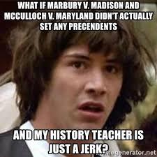 Madison Meme - law review of marbury v madison joker unda stair s blog