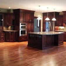 what color hardwood floors go with cherry cabinets 25 wonderful cherry wood cabinets kitchen decorating ideas