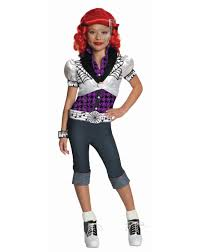monster high costumes monster high operetta girls costume