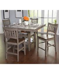 deals on simple living simon counter height 5 piece dining set 5