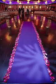 purple aisle runner satin aisle runner 50ft 5 ft wide wedding