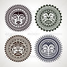 graphicriver polynesian styled masks 4603472 tats on tats