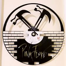 Personalized Clocks With Pictures Pink Floyd Vinyl Record Handmade Clock With Working Hands