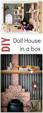 Easy Way To Build A Toy Box by Make A Dollhouse In A Box Simple Portable And Fun