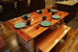 15 ways to diy your dream dining room table for half the price chisel tennessee red cedar into a table