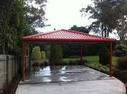 Car Port Roof Metal Carport Roofing Modern Melbourne By Metile Metal Tile
