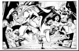 impressive justice league coloring pages dokardokarz net