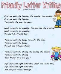 english language creative writing grade 4 writing a friendly