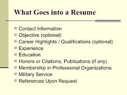 Experience On A Resume Examples by On A Resume Solomei Com