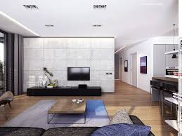 3 Room Flat Interior Design Ideas Linear Design Living Space Interior Design Ideas