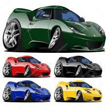 cartoon race car sports car stock vectors royalty free sports car illustrations