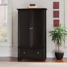 Sauder Shoal Creek Armoire Wood Wardrobe Closet Ebay