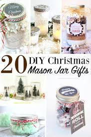 diy christmas mason jar gifts holiday jar presents