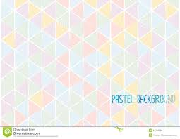 Colour Style by Triangle Geometric Abstract Background Pastel Water Colour Style