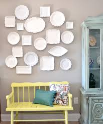 Picture Wall Ideas by Diy Plate Wall Inspiration U0026 Tutorial