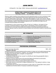 executive resume formats and exles 10 best best operations manager resume templates sles images