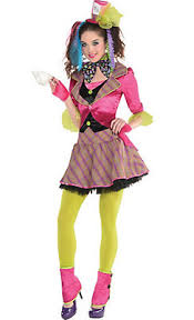 Womens Mad Hatter Halloween Costume Alice Wonderland Costumes Alice Wonderland Costume Ideas