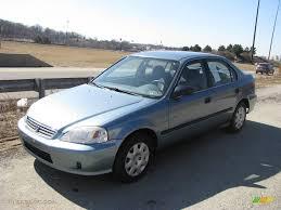 Honda Civic 2000 Specs 2000 Iced Teal Pearl Honda Civic Lx Sedan 8155317 Gtcarlot Com