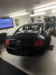 bentley back from the paint shop and team extreme racing