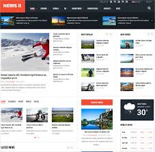 reporting website templates 15 news website themes templates free premium templates