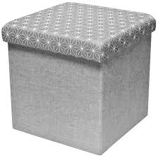 canap molletonn pouf tabouret coffre de rangement assise molletonné scandinave