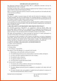safety plan template safety plan sample text safety management