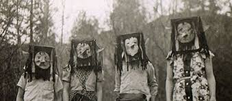 halloween costumes 1950 creepy vintage halloween photos scarier than anything you u0027ll see