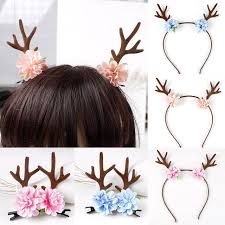 deer headband 2017 headband gift women girs kid christmas deer antlers