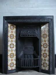 Cast Iron Fireplace Insert by Edwardian Cast Iron Fireplace For Sale On Salvoweb From