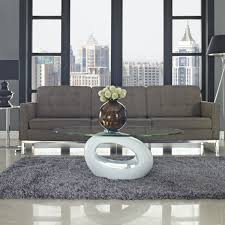 furniture dark wood contemporary coffee table round zebra wood